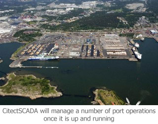 CitectSCADA will manage a number of port operations once it is up and running