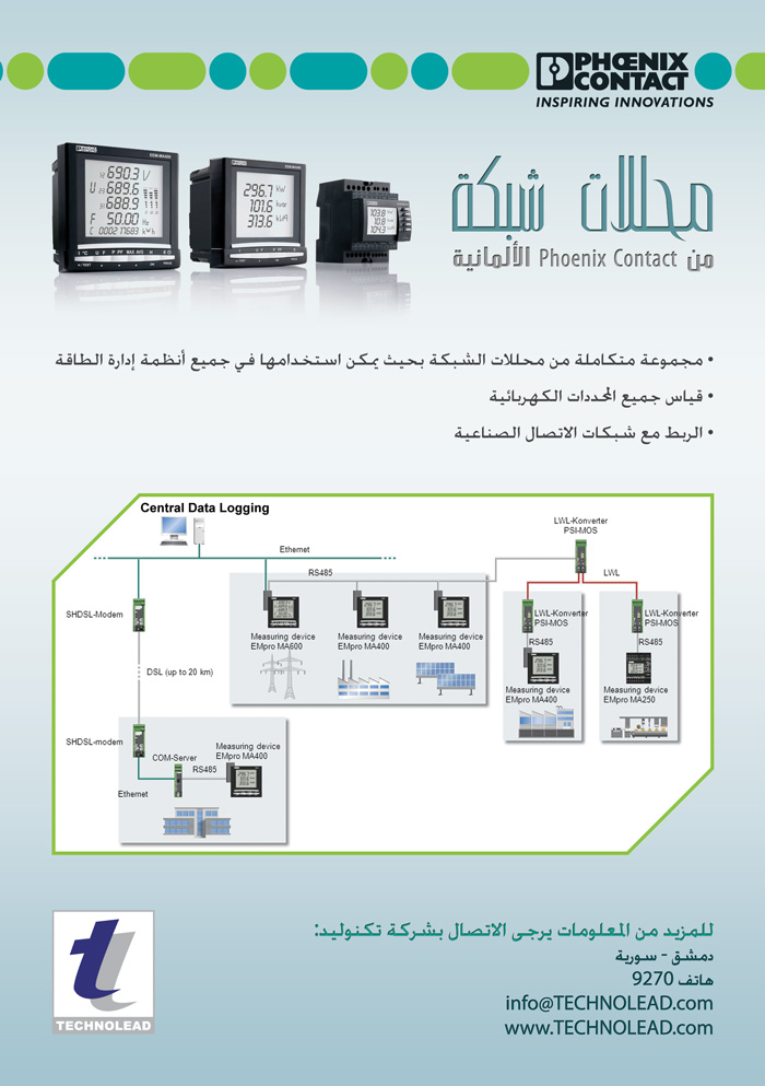 Network Analyzers  from Phoenix Contact